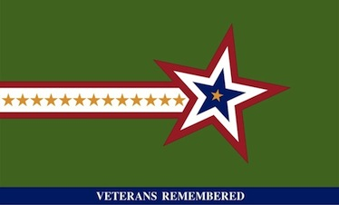 Veterans Remembered Flag